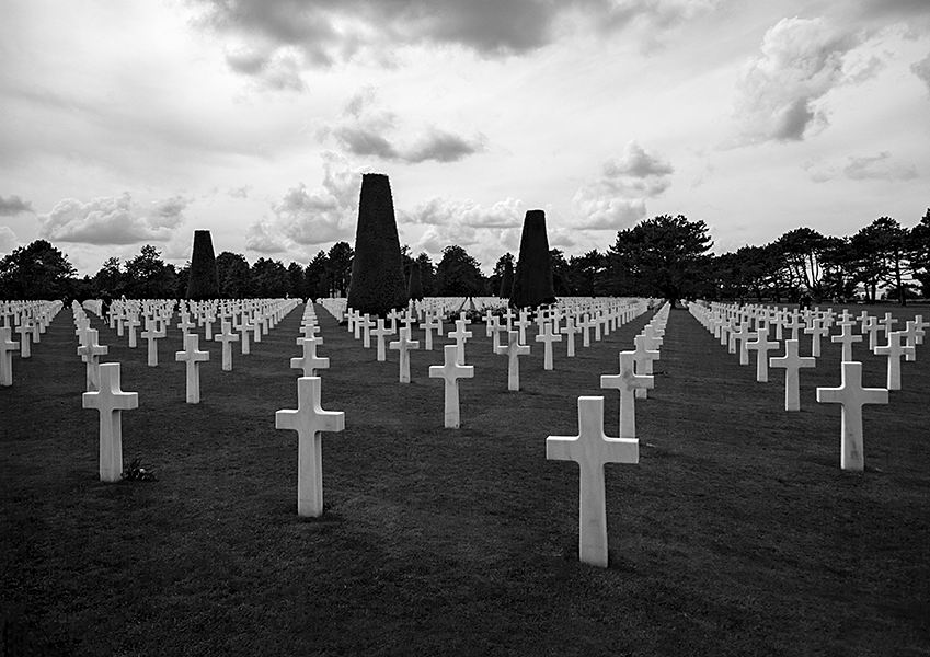 American Military Cemetery / Colleville-sur-Mer